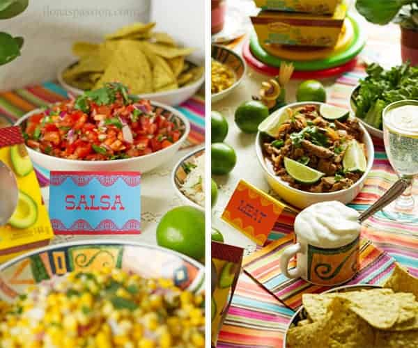 Mexican Buffet Menu Ideas Ilonas Passion