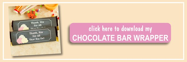 Subscribe DIY Free Back to School chocolate bar wrapper printable with chalkboard background and roses. Lovely teacher's gift idea! by ilonaspassion.com I @ilonaspassion