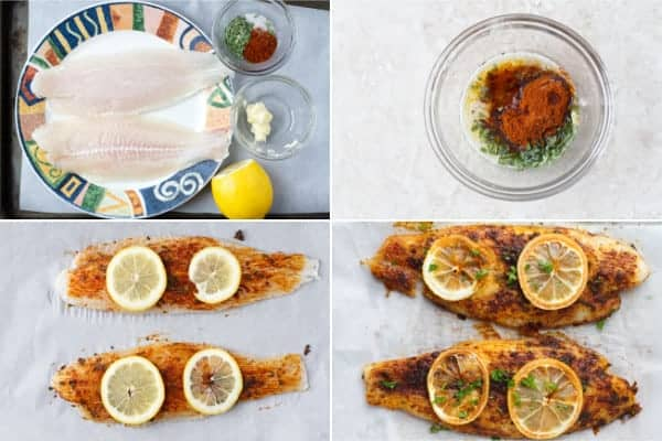 Step by step on how to make baked basa fish fillet in the oven by ilonaspassion.com I @ilonaspassion
