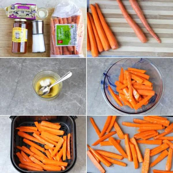 How to make honey glazed carrots.