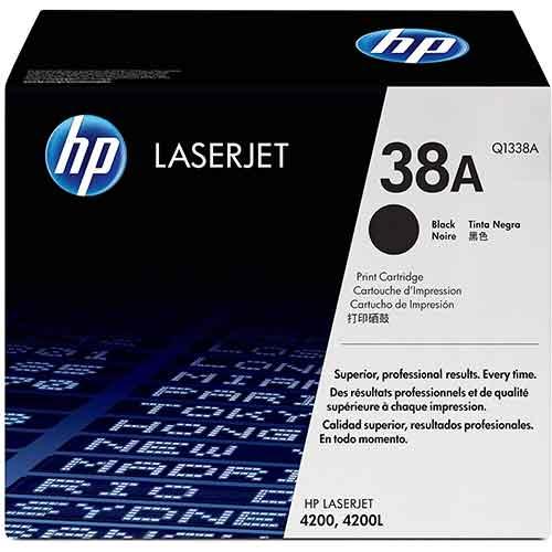 HP 38A LaserJet Black Toner