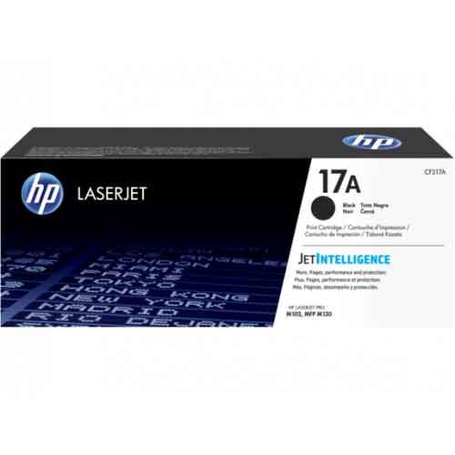HP 17A LaserJet Black Original Toner Cartridge