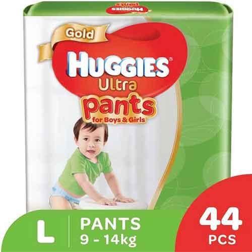 huggies ultra pants L size diaper 44 pcs 9-14kg