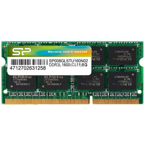 silicon power 8gb 1600 bus ddr3l