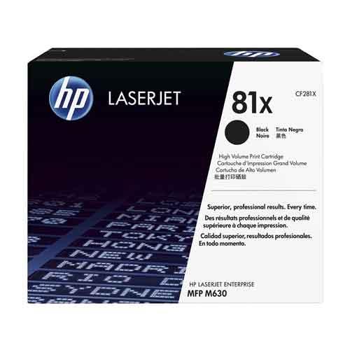 HP 81X LaserJet Black Toner Cartridge