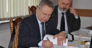 Signatory of Agreement Mikolaj Kulik, Ph.D., Rector of National Aviation in Kiev