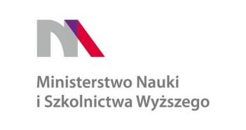 Logotyp Ministerstwa Nauki i Szkolnictwa Wyższego | The logo of the Ministry of Science and Higher Education