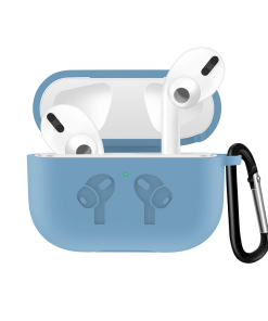 Silicone Case with Anti Lost Buckle for AirPods Pro