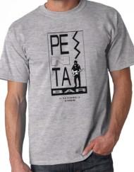 PENTA GRIS 2 - Camiseta PENTA BAR Gris
