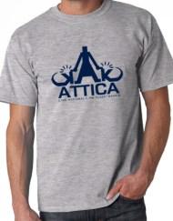 ATTICA GRIS - Camiseta ÁTTICA Gris