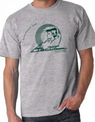 PERFIL GRIS VERDE - Camiseta PERFIL Gris