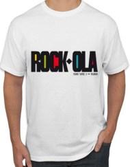 ROCKOLA - Camiseta ROCK-OLA Blanca