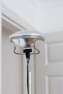 toio lamp detail