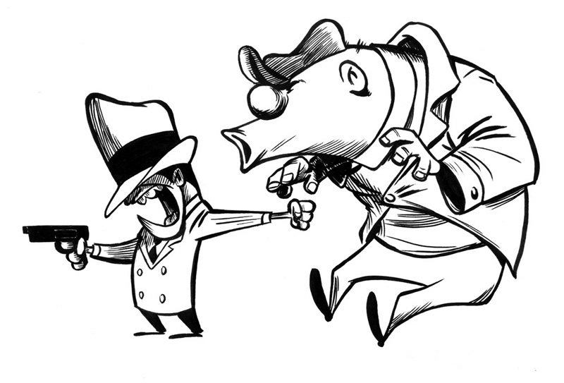 Cgtalk Who Is The Short Gangster In The Bugs Bunny Cartoon