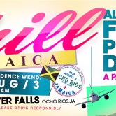 Aug 3rd – Chill Jamaica – Jamaica Independence Weekend