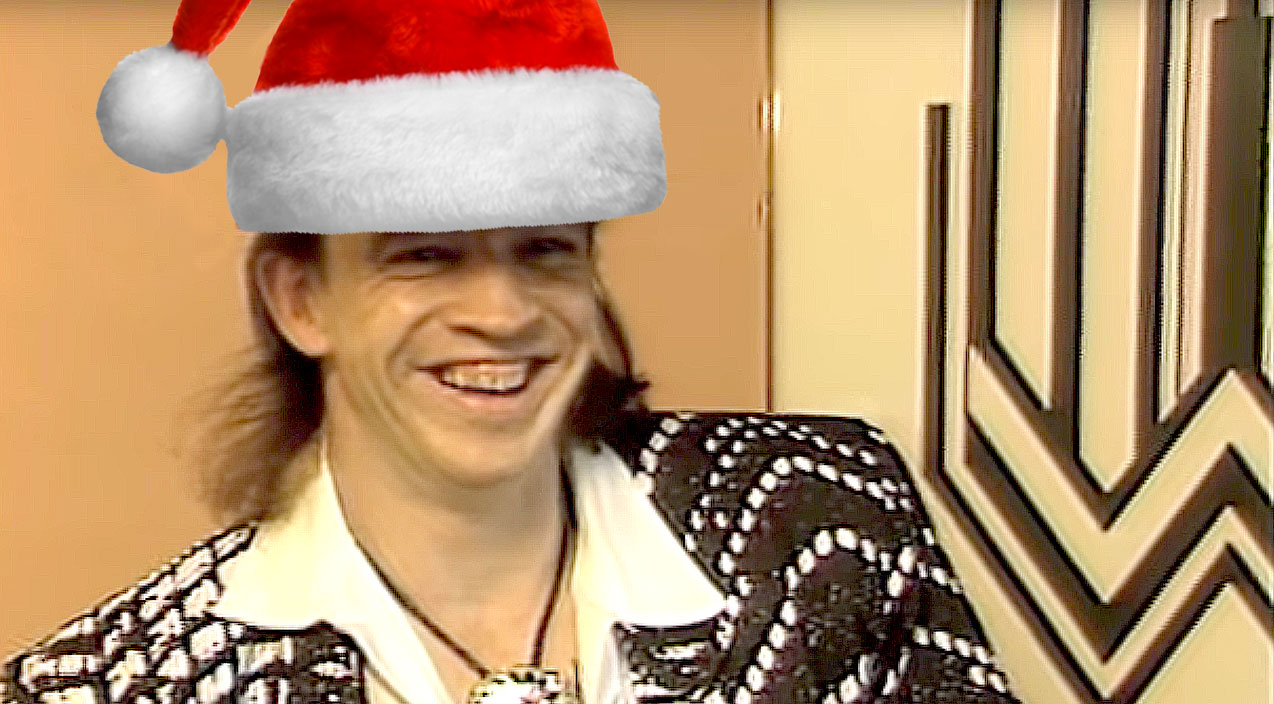 No Christmas Is Complete Until Youve Heard Stevie Ray Vaughans Holly Jolly Message To Fans I