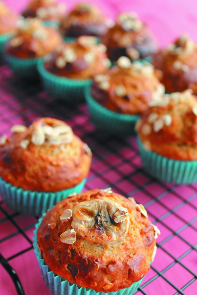 Banana and Oat Muffins