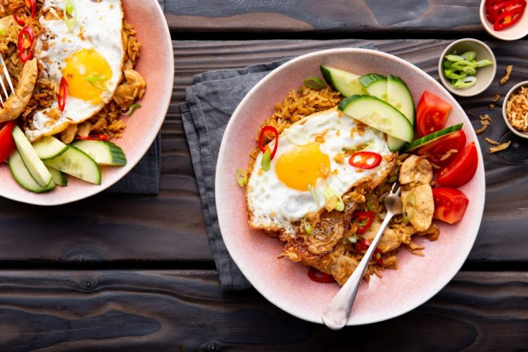 Nasi Goreng with Chicken, chicken recipes, i love cooking