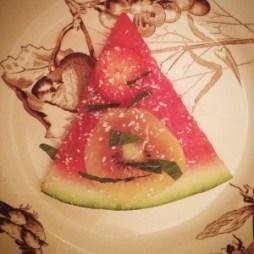 detox zomersnack met watermeloen