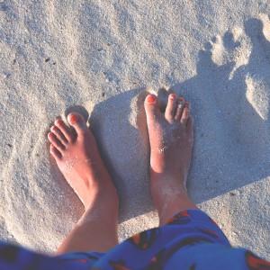 I Love Detox inspiratie: op blote voeten lopen is gezond! Het werkt helend en is goed om te aarden