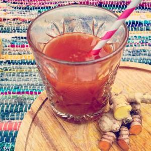 I Love Detox recept: Magische kurkuma gember drank tegen verkoudheid en griep