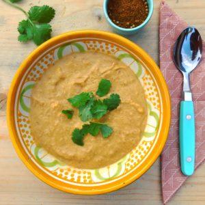 Makkelijke zoete aardappelsoep voor in je detox kuur: Marokkaanse soep met zoete aardappel en ras el hanout