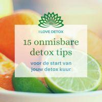 15 detox tips voor de start van jouw detox kuur! Makkelijk, simpel en goedkoop.