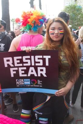 Resist Fear -LA Resist March 2017