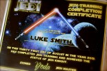 jedi training certificate