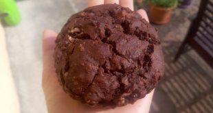 Muffin al cioccolato e melanzane