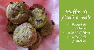 muffin di piselli