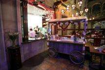 Gourmet street food served from a traditional trolley at Thava Montecasino