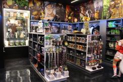 Inside the Dark Carnival store