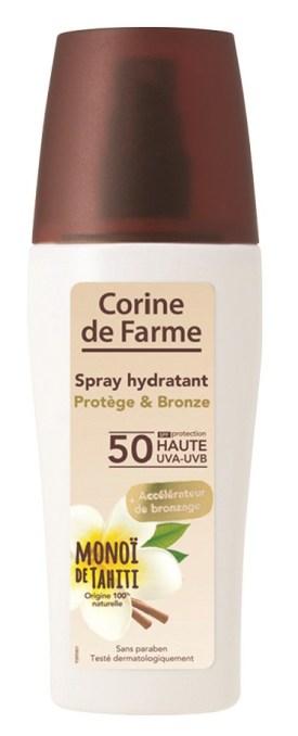 Spray hidratante Protege e Bronzeia FPS 50 150ml 14,99EU