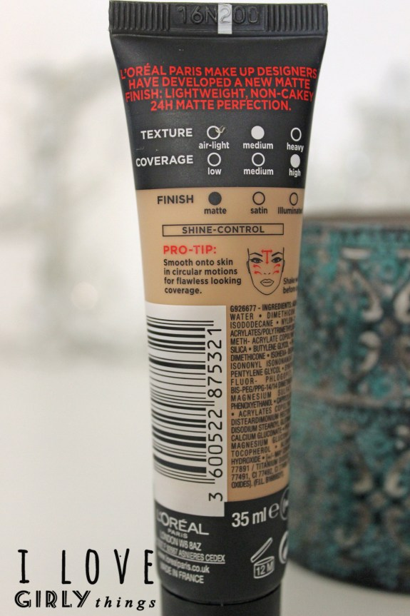 review loreal infallible 24h matte_1