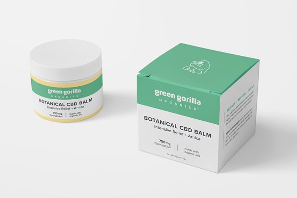 Green Gorilla Botanical CBD Topical Balm 750mg Unveiled at Natural Products Expo East