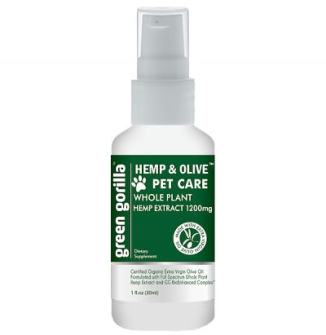 Green Gorilla adds whole plant CBD for pets
