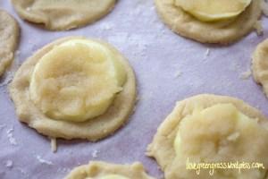 Filled Apple Cookies Vegan