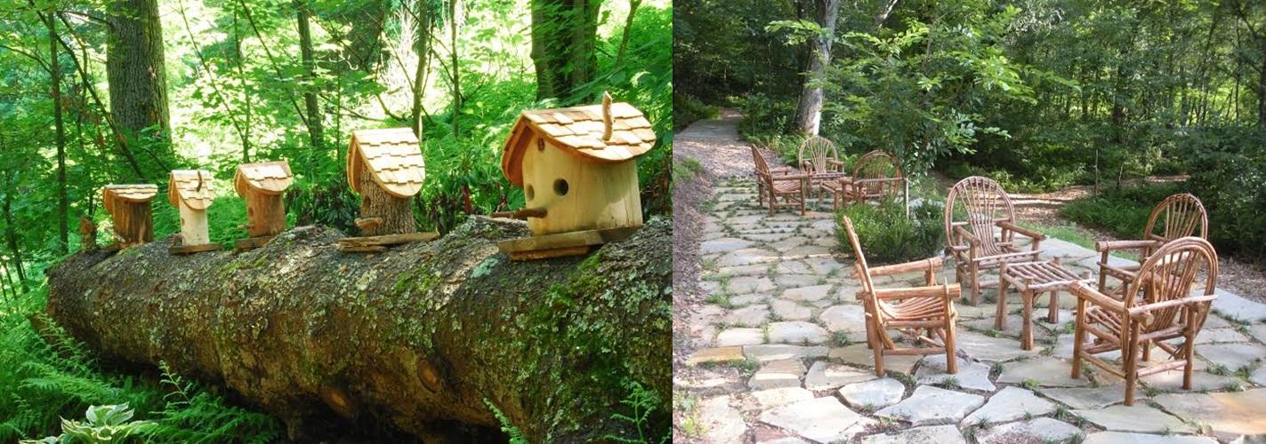 Birdhouse & Secret Garden