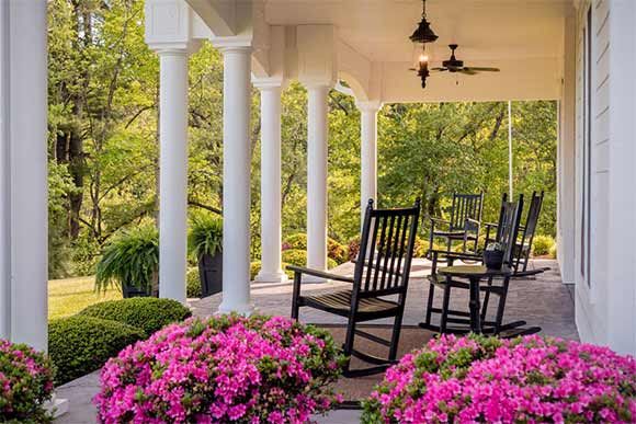 Porch Parties at The Inn On Tiffany Hill