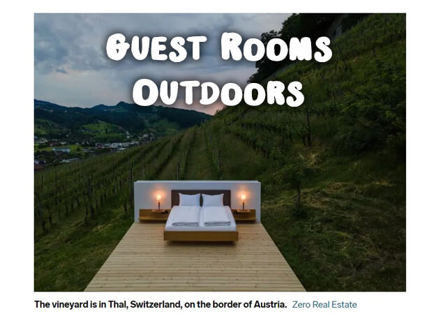 Guest Room Outdoors