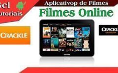 -Video Aula- Aplicativo Crackle #6° Serie App De Filmes.