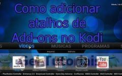 Tutorial: Como criar atalhos de Add-ons no KODI / How to Create Add-On Shortcuts Confluence Skin Kodi
