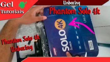 Unboxing de um Phantom Solo 4k