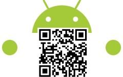 Leitor de Código QR para Android.
