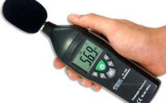 Decibelímetro medidor de nível de som