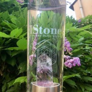 Bottiglia con Cristallo di Ametista IStone