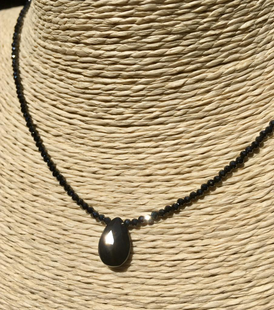 Spinello Nero ( Diamante Nero) con goccia, IStone