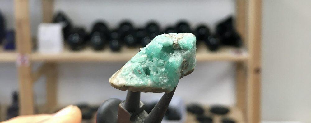 Smeraldo grezzo Colombia, IStone