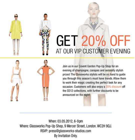 SHOP THE VIP EVENT WITH 20% OFF